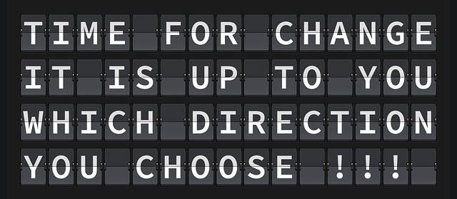 Förändring är ditt val